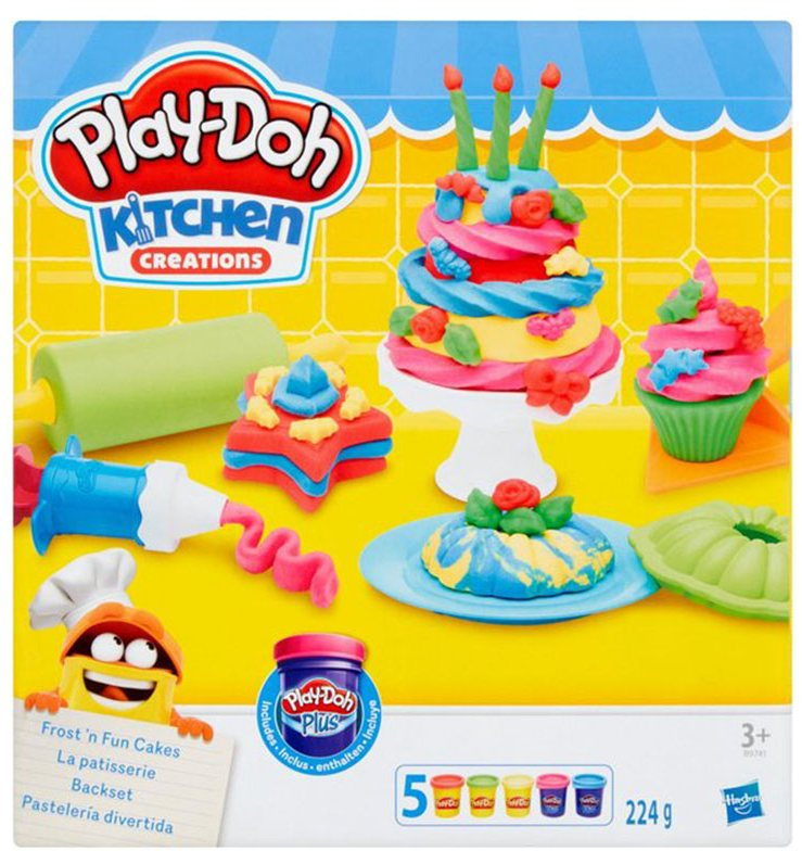 Play-Doh Kitchen Creations Ice Cream fun kids toys children Barsleys Department Store Paddockwood Kent