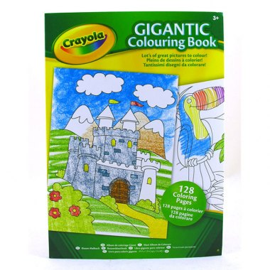 Crayola Gigantic colouring book Kids Toys Children Barsleys Department Store Paddockwood Kent
