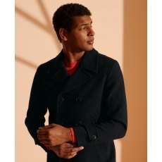 WOOL DB PEACOAT