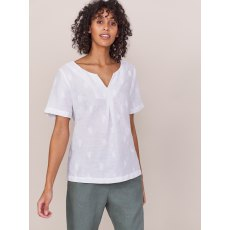 Banana Leaf Linen Top