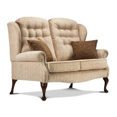 Lynton Fireside High Seat 2 Seater Settee