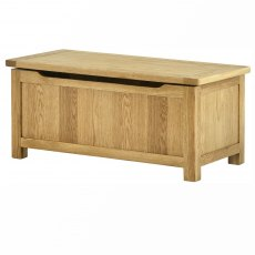 Lulworth Oak Blanket Box