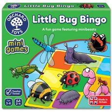 LITTLE BUG BINGO - MINI GAME