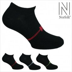 Socks 3 Pack Cotton Trainer Liners