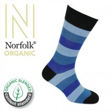 Socks Organic Block Stripe