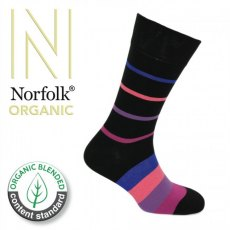 Socks Organic Multi Stripe