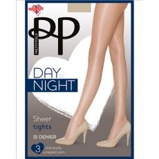 Day To Night 15D Sheer Tights 3 Pair Pack