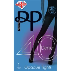 3D Fit 40D Opaque Tights