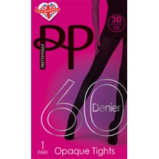 3D Fit 60D Opaque Tights