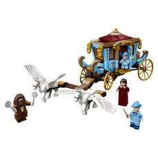 Beauxbatons Carriage Arrival at Hogwarts