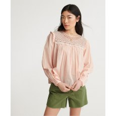 ELLISON LACE LONG SLEEVE TOP