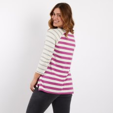 Ana 3/4 Sleeve Cotton Tee
