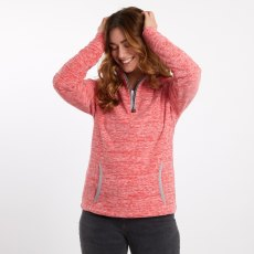 Nancy 1/4 Zip Space Dyed Fleece