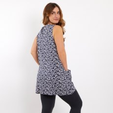 Juhi Printed Viscose Tunic