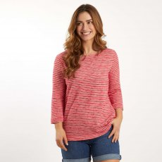 Simone Stripe Crew Neck Fleece