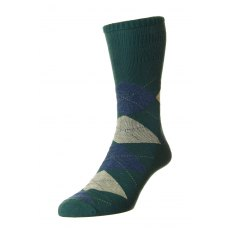 SOFT TOP ARGYLE SOCKS HJ88