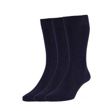 PLAIN SOCKS 3PK
