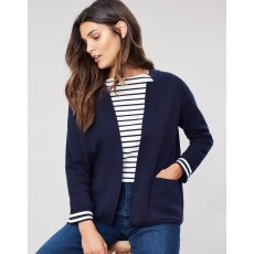209588 Ursula Milano Cardigan With Stripe Inside Back