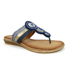 CARLOTTA TOE POST SANDAL
