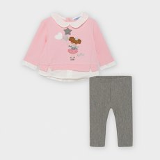 BA 2789 SPOT JUMPER + LEGGINGS SET