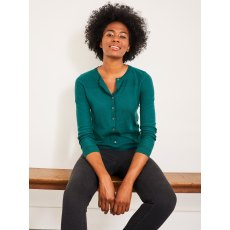 City Plain Crew Neck Cardigan