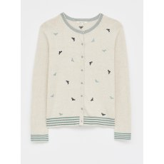 Bee Embroidered Cardigan