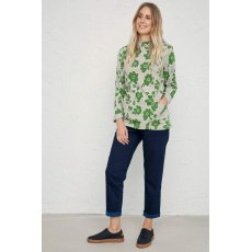 Oceangoing Sweatshirt Penwith Bloom Field Green