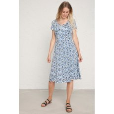 Crebawthan Dress Inky Bloom Sailor