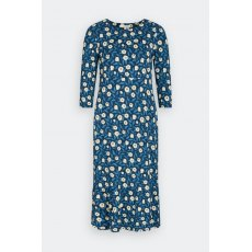 Ocean Sky Dress Scratchy Floral Harbour