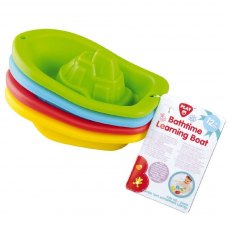 BATHTIME LEARNING BOAT - 4 PCS
