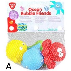 OCEAN BUBBLE FRIENDS - 2 ASSORTED