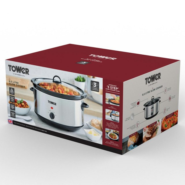 Tower TOWER 6.5 LITRE SLOW COOKER