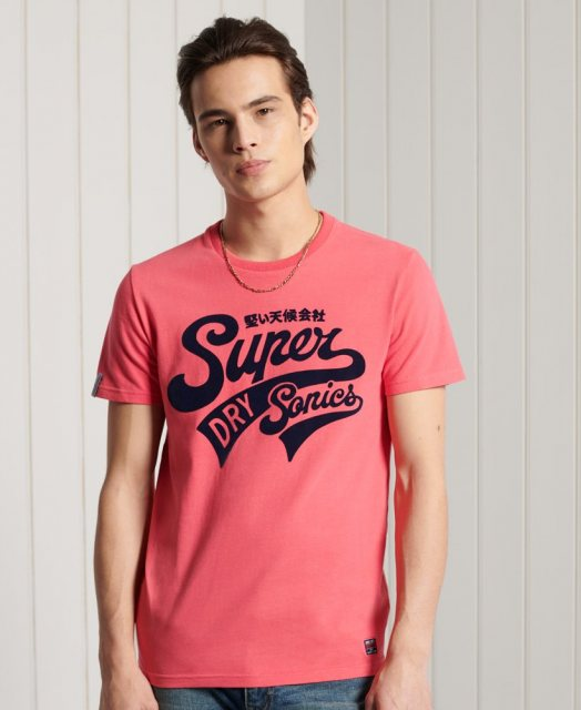 Superdry COLLEGIATE GRAPHIC TEE 185