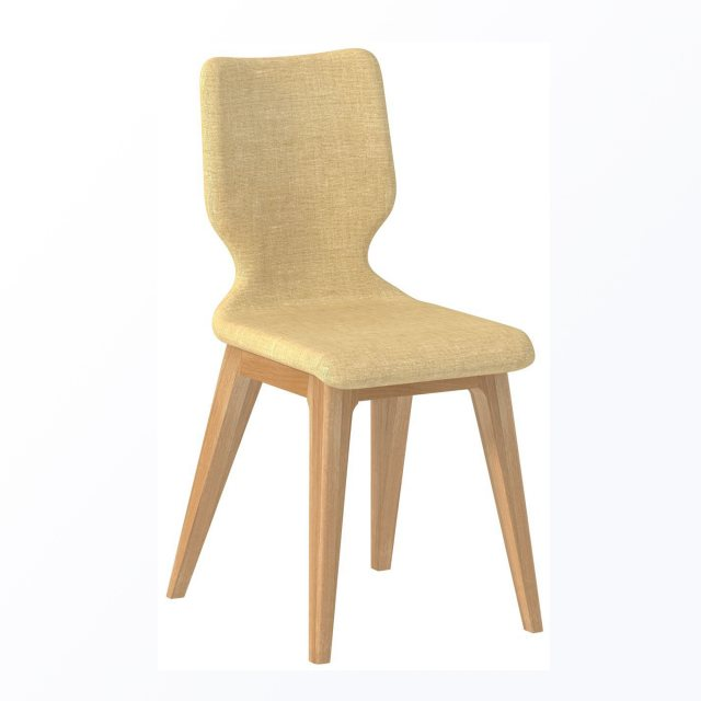 The Forma Dining Chair has simple clean lines which are modern and stylish.  The chair is upholstere