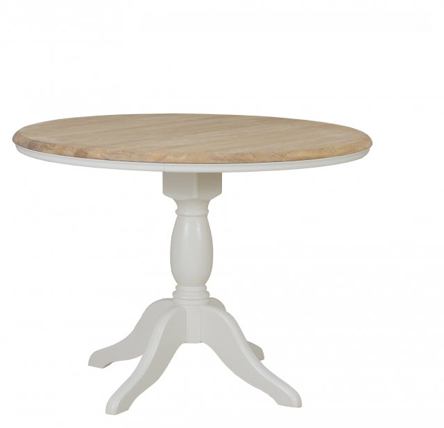 Stag Cromwell Round Pedestal Dining Table