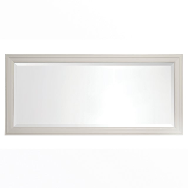 The Cromwell mirror has a beautiful painted finish.