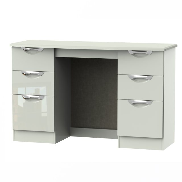 Camden Kneehole Dressing Table/Desk iavailable in an extensive range of gloss and natural finishes