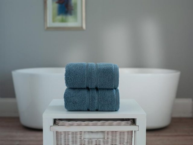 Ocean Chelsea Zero Twist Cotton Towel