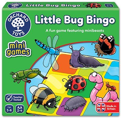 Orchard Toys LITTLE BUG BINGO - MINI GAME