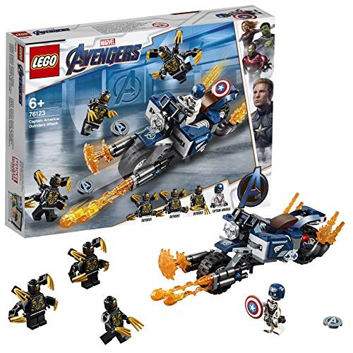 Lego CAPTAIN AMERICA OUTRIDERS