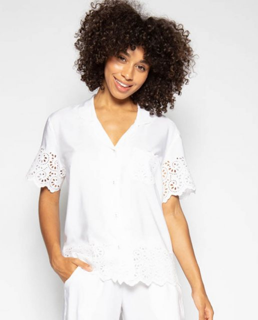 Cyberjammies LEAH EMBROIDERED TOP