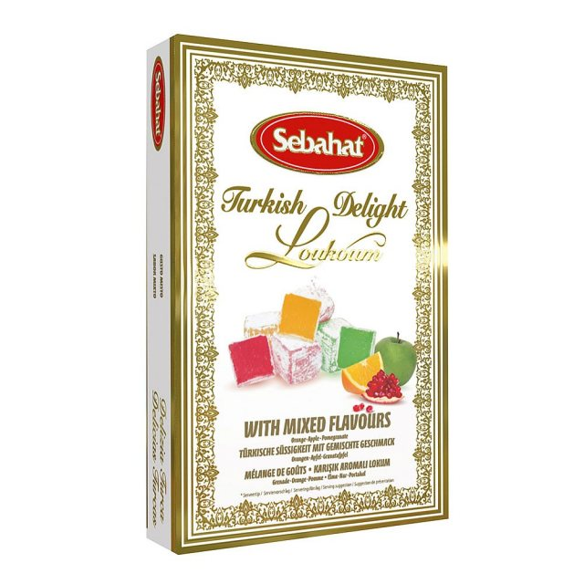 MIXED FLAVOUR TURKISH DELIGHT