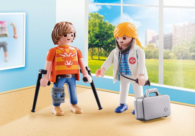 Playmobil Doctor and Patient Duo Pack