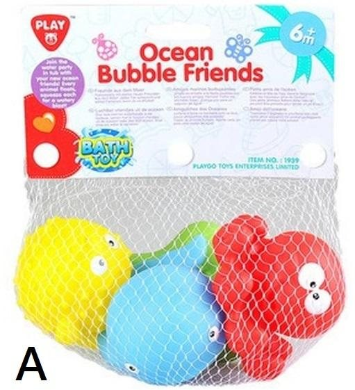 PLAYGO OCEAN BUBBLE FRIENDS - 2 ASSORTED