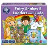 Orchard Toys FAIRY SNAKES & LADDERS & LUDO