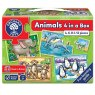 Orchard Toys ANIMALS 4 IN A BOX